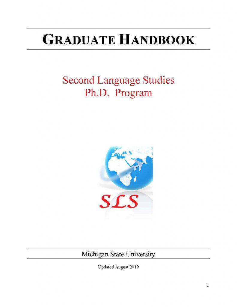 thumbnail of sls graduate handbook